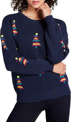 ModCloth Christmas Tree Sweater