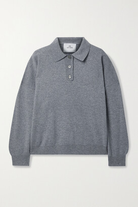 Mr. Mittens Melange Wool And Cashmere-blend Polo Shirt