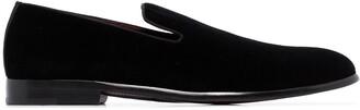 Dolce & Gabbana Classic Velvet Slip On Loafers