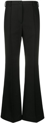 Acne Studios Flared High-Waisted Trousers