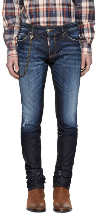 DSQUARED2 Blue Slim Everything Jeans