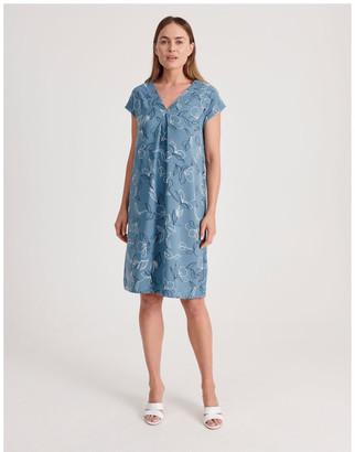 Regatta Front and Back V-Neck Short Sleeve Dress