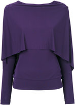 Roland Mouret layered blouse