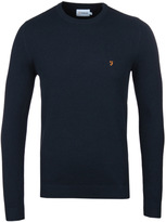 Farah Ealing True Navy Crew Neck Sweater