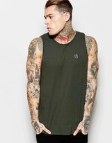 Religion Vest With Split Back Hem