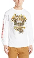 Crooks & Castles Men's Knit Long Sleeve T-Shirt-Wild Medusa