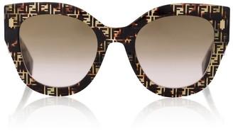 Fendi Roma FF acetate sunglasses