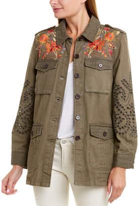 Johnny Was Military Jacket