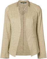 Kobi Halperin - collarless open blazer - women - Linen/Flax/Spandex/Elastane/Viscose - S