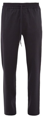 Barena Venezia - Cosma Elasticated-waist Straight-leg Trousers - Mens - Navy