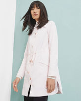 Ted Baker Drawstring hooded jacket