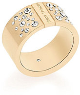 Michael Kors Pave Crystal Barrel Ring