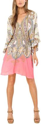 Hale Bob Kimono Midi Dress