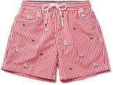 Polo Ralph Lauren Traveler Mid-Length Embroidered Swim Shorts