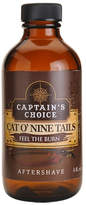 Smallflower Cat o Nine Tails Bay Rum Aftershave by Captain's Choice (4oz After Shave)