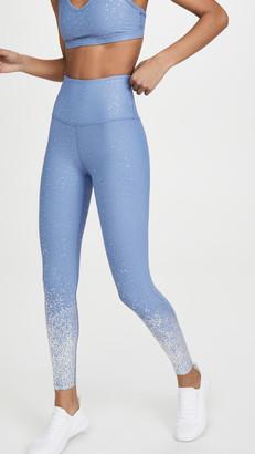 Beyond Yoga High Waisted Alloy Ombre Midi Leggings