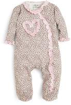 Little Me Girls' Leopard Print Footie