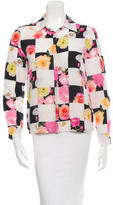 MSGM Silk Long Sleeve Top