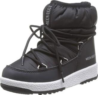 Moon Boot Moon-boot Jr Girl Low Nylon Wp Snow Boots Unisex Kids'