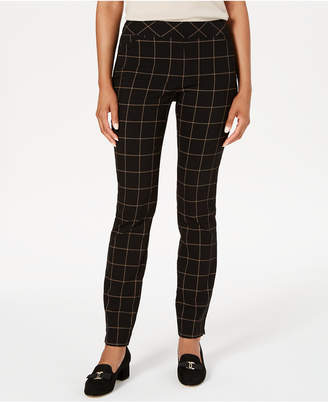 Charter Club Windowpane Pants