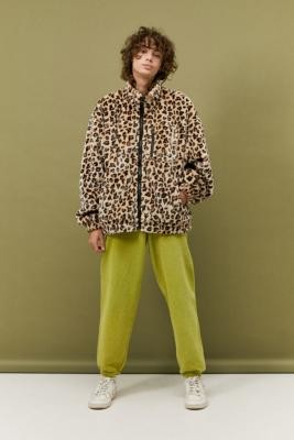 Iets Frans... iets frans. Leopard Print Fleece - Assorted S at Urban Outfitters