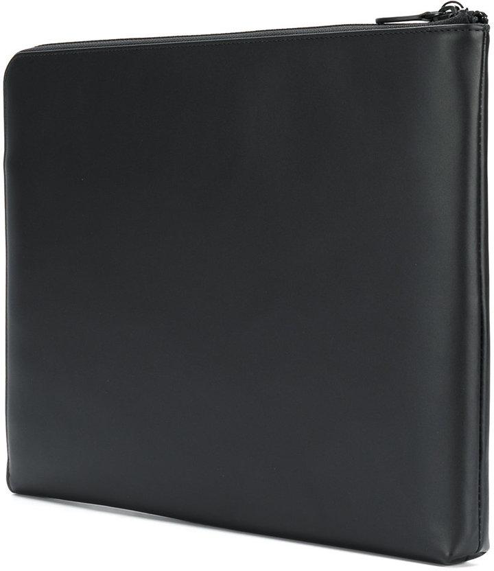 Emporio Armani thin laptop case