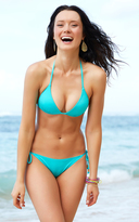Voda Swim Turquoise String Bikini Bottom