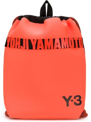 Y-3 Drawstring Logo Backpack