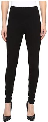 Lysse Taylor Seamed Leggings (Black) Women's Casual Pants