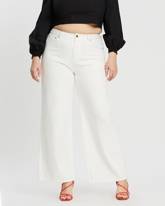 Mika Muse Winnie High-Waisted Wide Leg Jeans