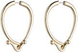 Eddie Borgo Thalia Hook Hoop Earrings