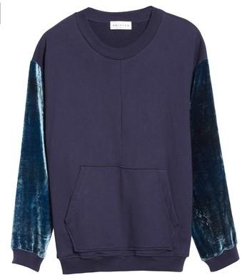 Drifter Men's Galeras Velvet Sleeve Sweatshirt
