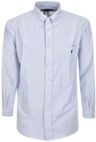 Ralph Lauren Easy Striped Oxford Shirt Blue