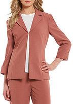 Preston & York Elsy Notch Collar Stretch Suiting Jacket