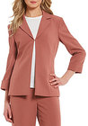 Preston & York-preston york elsy notch collar stretch suiting jacket