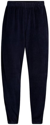 LES TIEN Velour trackpants