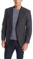 Tommy Hilfiger Men's Willow Two Button Plaid Sport Coat