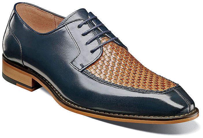 a492802d87f6 Stacy Adams Blue Oxford Men s Shoes