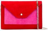 Casadei shoulder bag - women - Chamois Leather/Satin - One Size