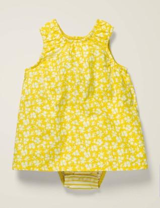 Printed 2-In-1 Dress
