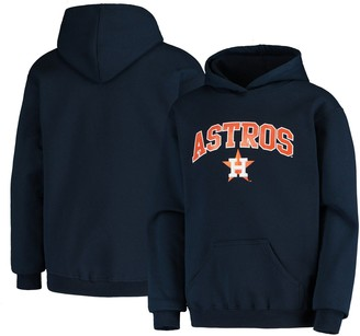 Stitches Youth Navy Houston Astros Pullover Fleece Hoodie