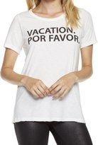 Chaser Vacation Por Favor Tee