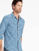 Lucky Brand Bandana Print Mason Workwear Shirt