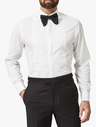 Chester by Chester Barrie Tailored Dress Shirt, White
