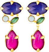 Mapleton Drive Abstract Prong Jewel Tone Drops, Pink