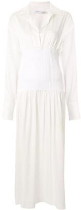CHRISTOPHER ESBER Ribbed Waist Dress