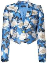Dolce & Gabbana cropped floral print jacket