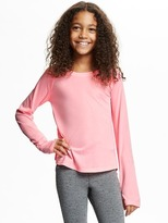 Old Navy Go-Dry Relaxed Crew-Neck Tee for Girls