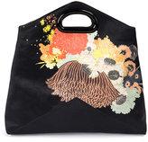 Dries Van Noten floral print clutch bag