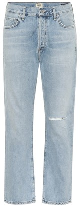 Citizens of Humanity McKenzie mid-rise straight jeans